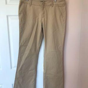 Aeropostale classic twill pants